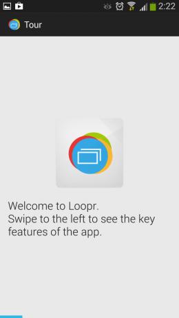 Приветствие - Loopr для Android