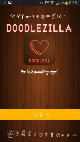Меню - Doodle photo editor для Android