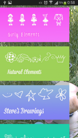 Категории - Doodle photo editor для Android