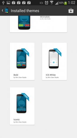 Темы - BIG! Caller ID для Android