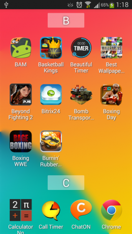 Приложения - Kronia Launcher для Android