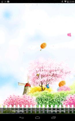 Сакура - Bird tweet fragrant flowers для Android