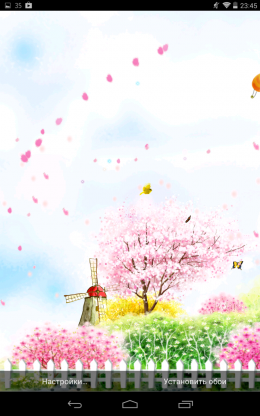 Сады - Bird tweet fragrant flowers для Android