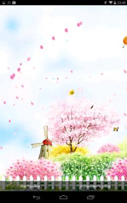 Сады - Bird tweet fragrant flowers для Android