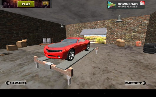 Гараж - 3d Hill Climb Muscle Cars 2014 для Android