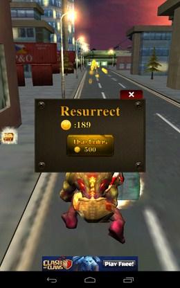 Вас догнали и сьели - 3D City Zombie RUN для Android