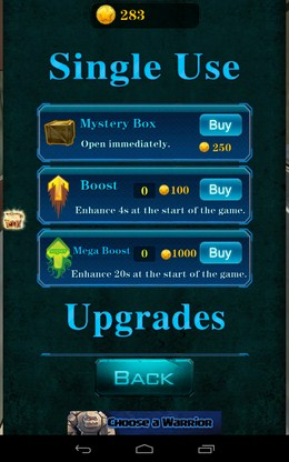 Магазин бонусов - 3D City Zombie RUN для Android
