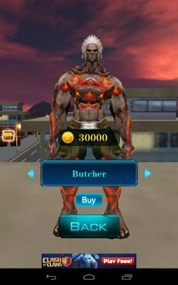 Выбор героя - 3D City Zombie RUN для Android
