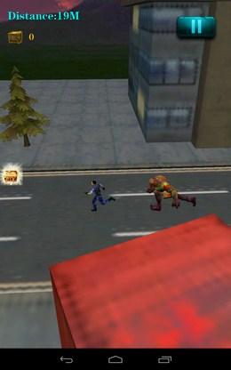 Начало побега - 3D City Zombie RUN для Android