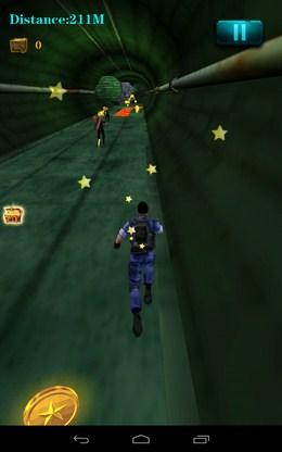 Бежим по тонелю - 3D City Zombie RUN для Android