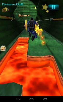 Перепрыгиваем расскол - 3D City Zombie RUN для Android