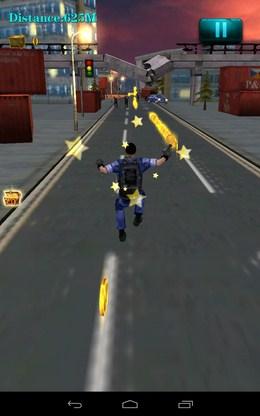 Собираем звезды - 3D City Zombie RUN для Android