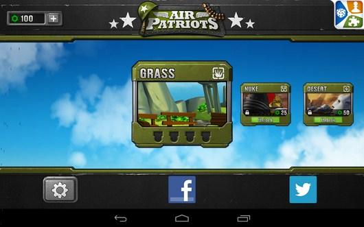 Доступные кампании - Air Patriots для Android