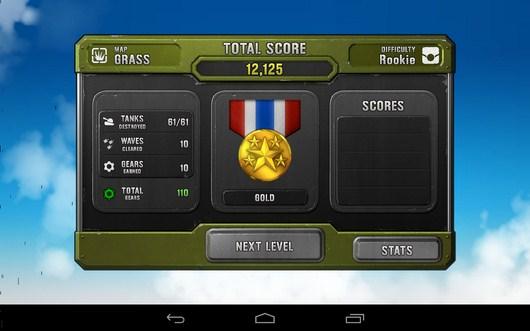 Миссия пройдена успешно - Air Patriots для Android