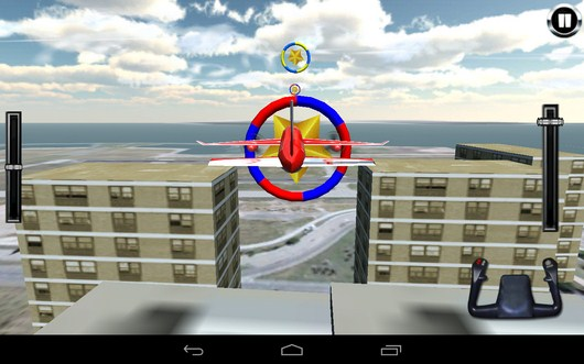 Приближаемся к кольцу - AirPlane Simulation 3D для Android