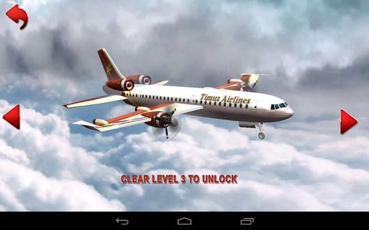 Выбор самолета - AirPlane Simulation 3D для Android