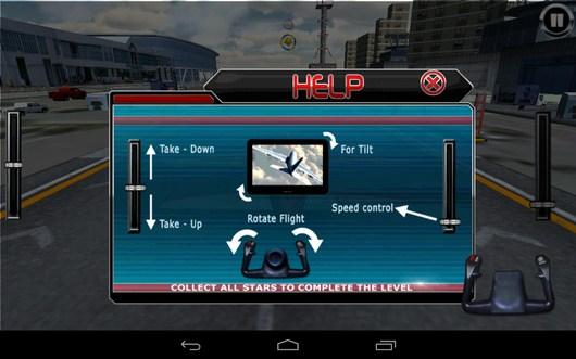 Обучение управлению - AirPlane Simulation 3D для Android