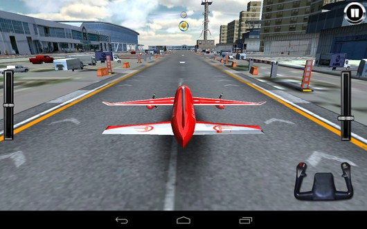 Взлетная полоса - AirPlane Simulation 3D для Android