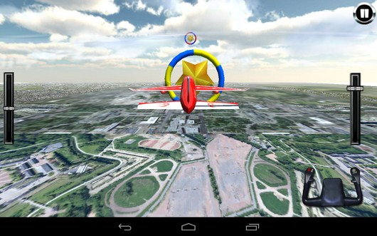 Первое кольцо - AirPlane Simulation 3D для Android