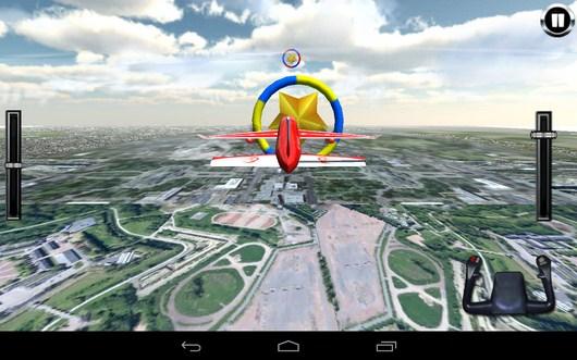 Первое кольцо - AirPlane Simulation 3D для Android