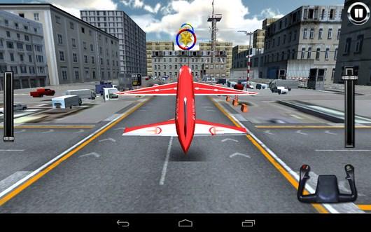 На взлет - AirPlane Simulation 3D для Android