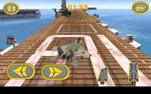 Первая миссия - Aircraft Carrier Parking для Android
