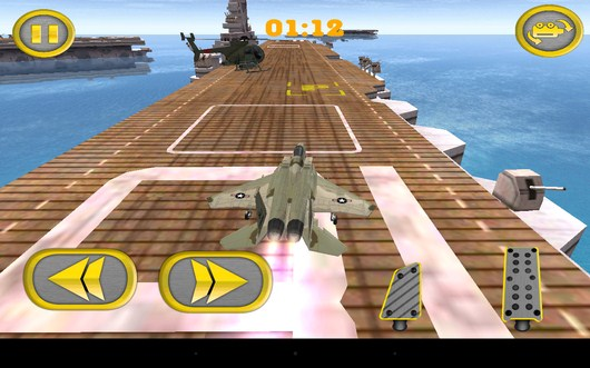 Ускорение - Aircraft Carrier Parking для Android