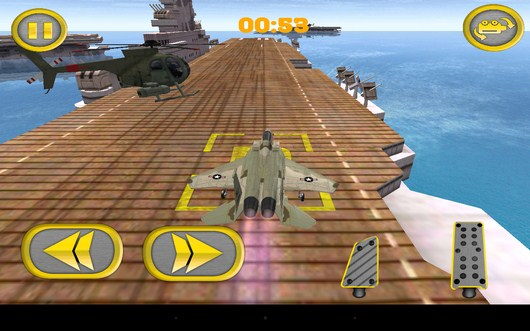Место парковки - Aircraft Carrier Parking для Android