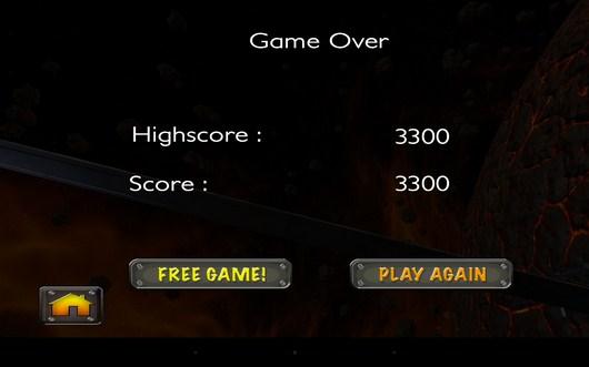 Очки уровня - Alpha Race  для Android