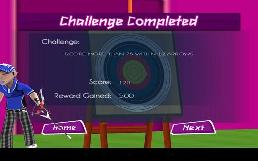 Задача выполнена - Archery 3D Championship для Android