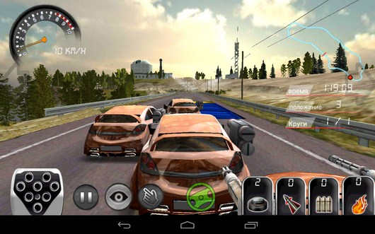 Зона ускорения - Armored Car HD для Android