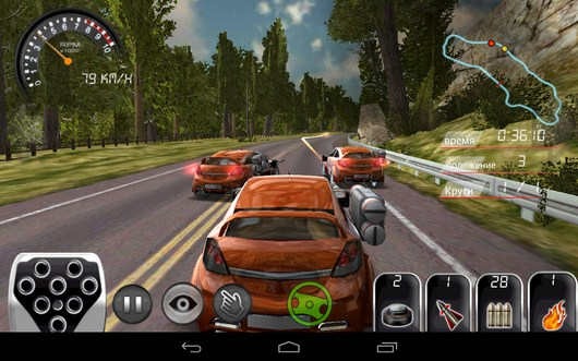 Обстрел соперников - Armored Car HD для Android