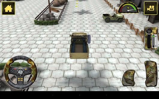 Начало движения - Army Truck Simulator для Android