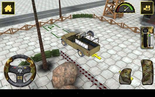 Парковка - Army Truck Simulator для Android