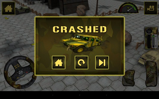 Врезались - Army Truck Simulator для Android
