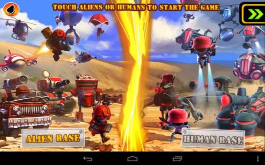 Выбор стороны - Army vs Aliens Defense для Android