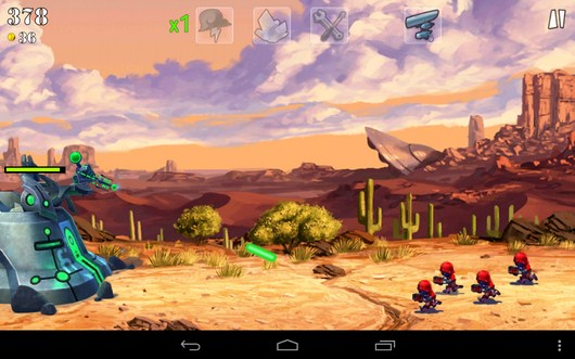 Начало сражения - Army vs Aliens Defense для Android