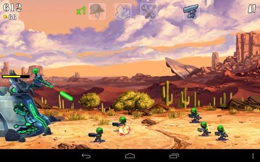 Отстрел врагов - Army vs Aliens Defense для Android