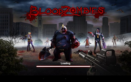 Экшн с зомби Blood Zombies HD для Android