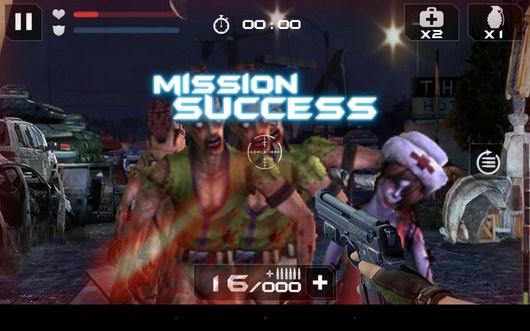 Миссия пройдена - Blood Zombies HD для Android