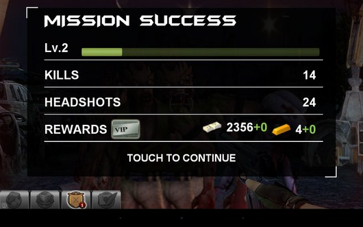 Результат - Blood Zombies HD для Android