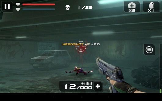 Новая задача - Blood Zombies HD для Android