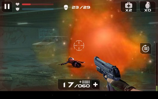 Граната - Blood Zombies HD для Android