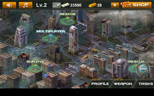 Город - Blood Zombies HD для Android