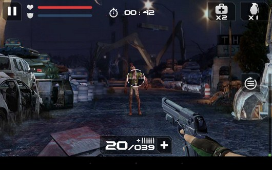 Начало охоты - Blood Zombies HD для Android