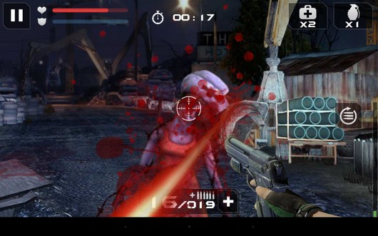 Зомби вас атакует - Blood Zombies HD для Android