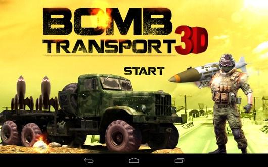 Аркада с перевозкой Bomb Transport 3D для Android
