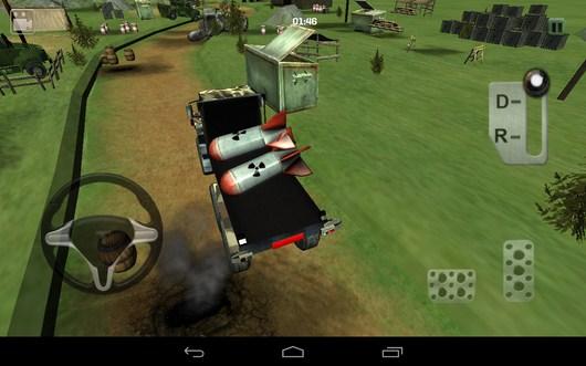 Перевозка ракет - Bomb Transport 3D для Android