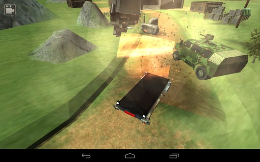 Ракета упала и взорвалась - Bomb Transport 3D для Android