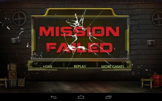 Миссия провалена - Bomb Transport 3D для Android